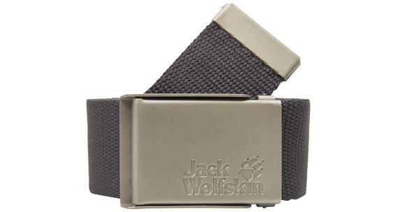 Jack Wolfskin Webbing riem grijs